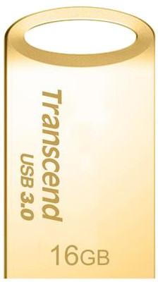 Transcend JetFlash 710 16GB, zlatá