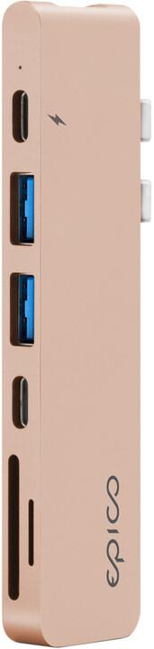 EPICO USB Type-C HUB PRO, zlatá
