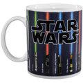 Hrnek Star Wars: Lightsaber, měnící se, 320ml