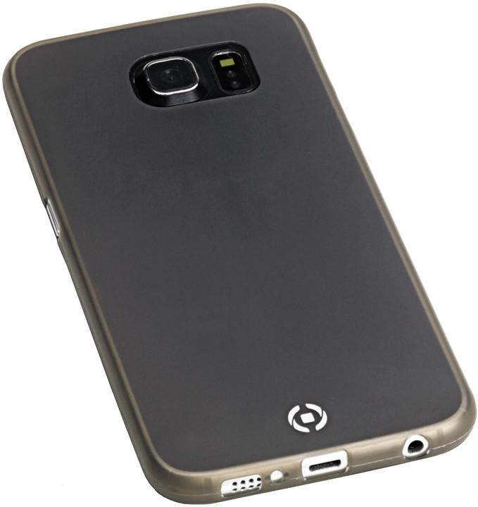 CELLY Frost pouzdro pro Samsung Galaxy S6, TPU, 0,29mm - černá
