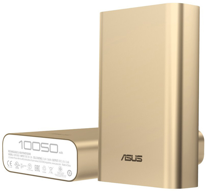 ASUS ZenPower 10050 mAh, zlatá