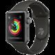 Apple Watch series 3 38mm pouzdro vesmírně šedá/šedý řemínek  + Zdarma vak Nike Heritage Gymsack, černá, univerzální (v ceně 499,-)