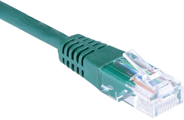 Masterlan patch kabel UTP, Cat5e, 3m, zelená
