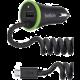 Belkin autonabíječka, 2.4A + 1A, vč. microUSB kabelu, černá