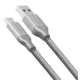 AXAGON SUPERSPEED USB-C - USB-A 3.2 Gen 1, 0.5m, 3A, oplet, šedý
