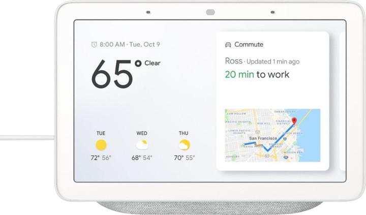 Google Home Hub, hlasový asistent