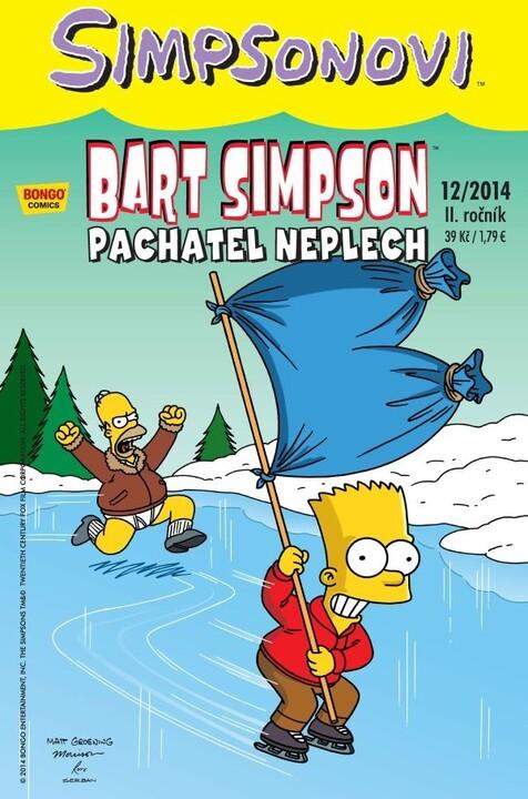 Komiks Bart Simpson: Pachatel neplech, 12/2014