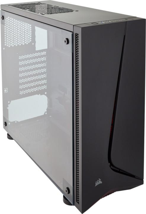 Corsair Carbide Series SPEC-05, okno, černá