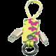 MIZOO USB/ microUSB klíčenka K2-03m, žlutě květovaná