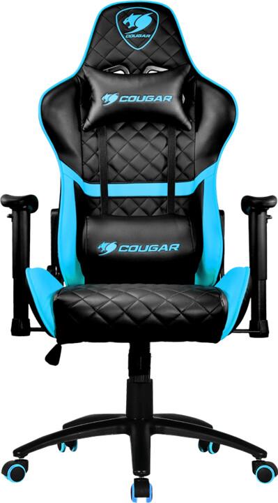 Cougar Armor One, černá/modrá