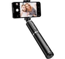Baseus Fully Folding Selfie Stick, černá/stříbrná - SUDYZP-D1S