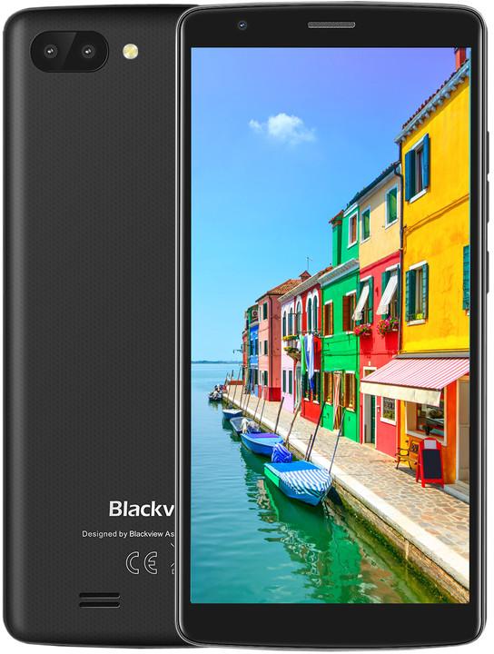 iGET Blackview GA20, 1GB/8GB, černá