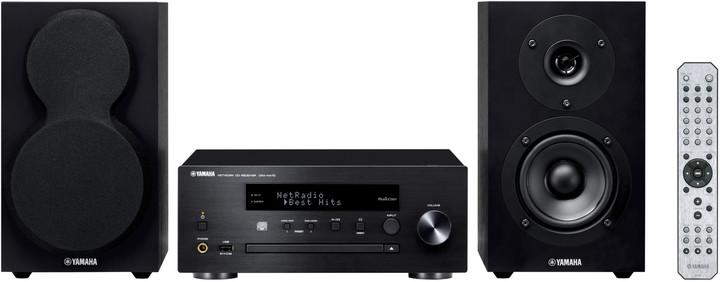 Yamaha MCR-N470, černá