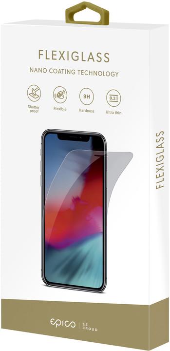 EPICO FLEXI GLASS tvrzené sklo pro iPhone XS Max