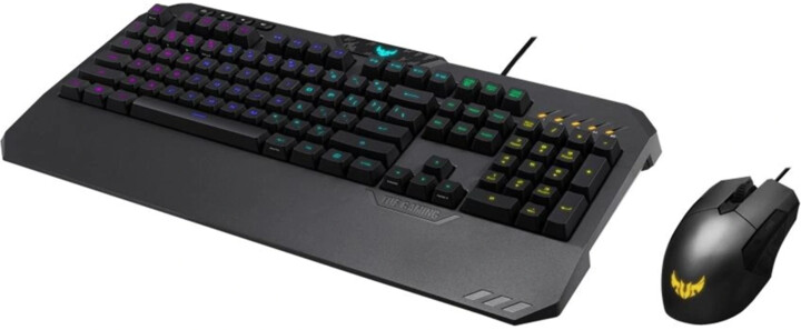ASUS TUF Gaming Combo (TUF K5 RGB + TUF M5 RGB), CZ/SK