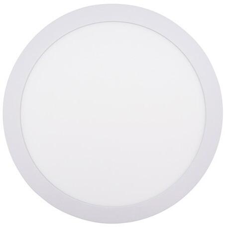 Solight LED mini panel CCT, přisazený, 24W, 1800lm, 3000K, 4000K, 6000K, kulatý