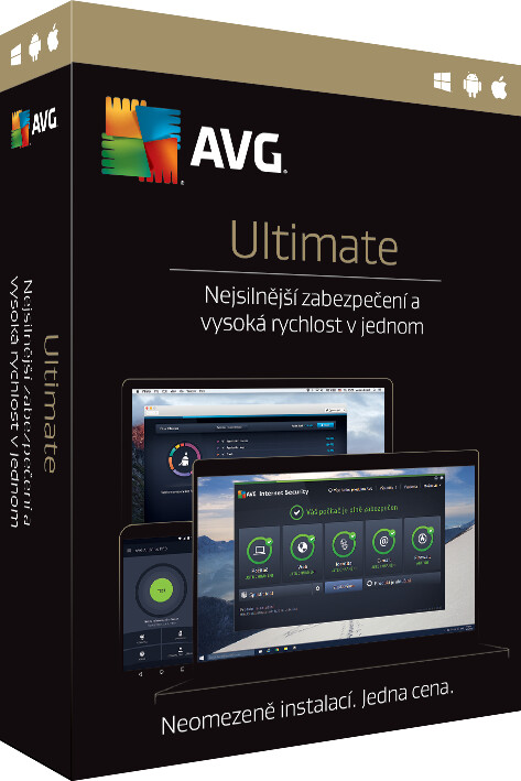 AVG Ultimate (Internet Security + Tune Up), 1 licence (24 měs.)