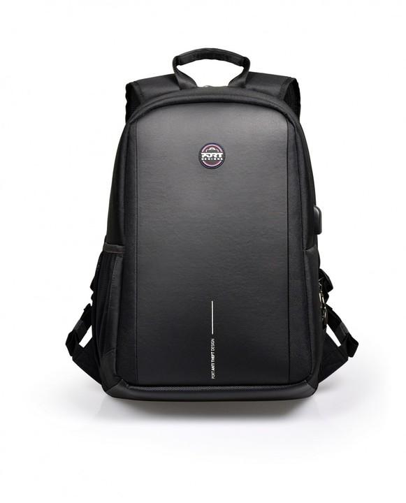 """Port Designs chicago EVO batoh na 15,6'' notebook a 10,1"""" tablet, černá"""