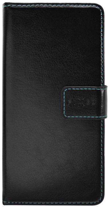FIXED Opus pouzdro typu kniha pro Lenovo A, černé