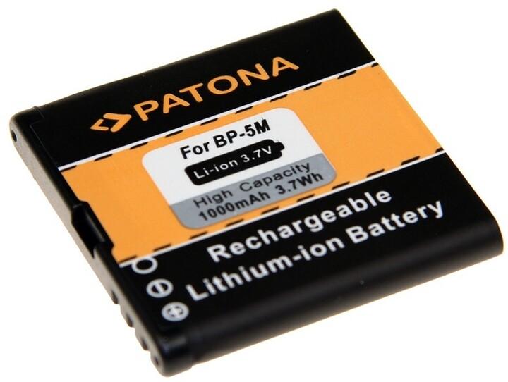 Patona baterie pro Nokia BP-5M 1000mAh 3,7V Li-Ion