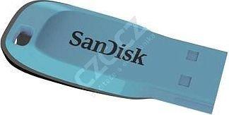 SanDisk Cruzer Blade - 8GB, světle modrá