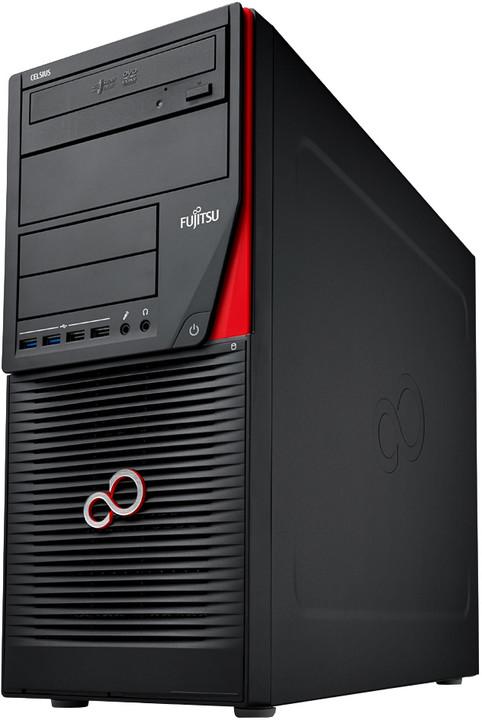 Fujitsu Celsius W550, černá