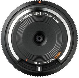 Olympus BCL-1580, 15mm, F8.0, černá