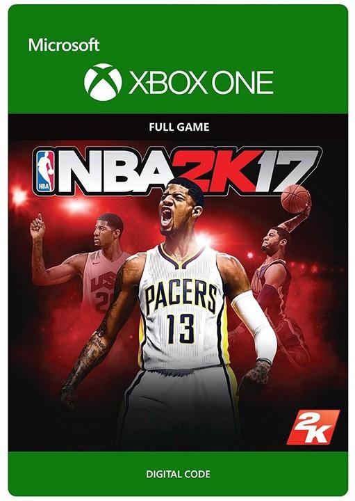 NBA 2K17 (Xbox ONE) - elektronicky