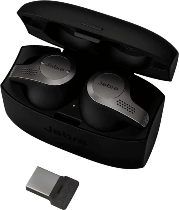 Jabra Evolve 65t, černá