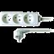 Prodlužovací kabel 230V 5m - 3x zásuvka, bílý