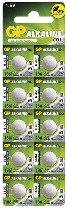 GP, 186, alkalická, 10ks