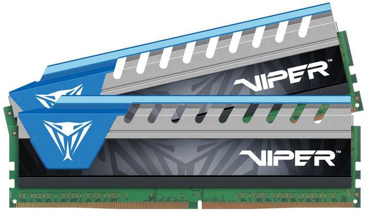 Patriot Viper Elite 8GB (2x4GB) DDR4 2666, modrá