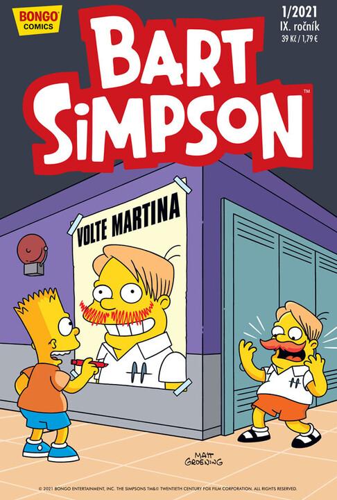 Komiks Bart Simpson, 1/2021