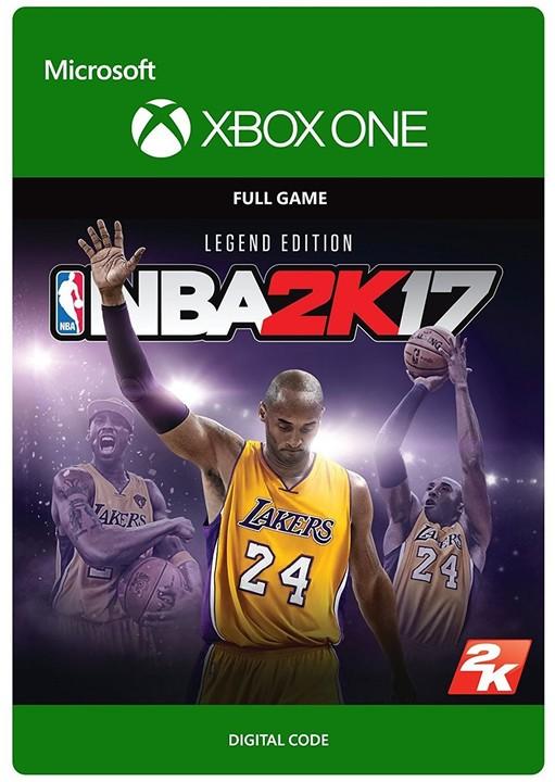 NBA 2K17: Legend Edition (Xbox ONE) - elektronicky