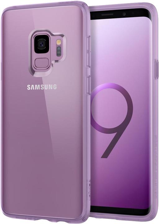 Spigen Ultra Hybrid pro Samsung Galaxy S9, lilac purple