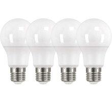 Emos LED žárovka Classic A60 10W E27, neutrální bílá - 4ks - 1525733421