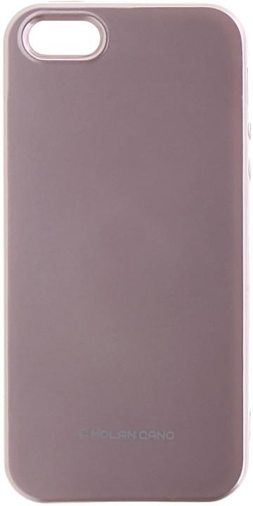 Molan Cano Jelly TPU Pouzdro pro Xiaomi Redmi Note 5A, růžově zlatá