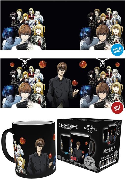 Hrnek Death Note - Group (měnící se)