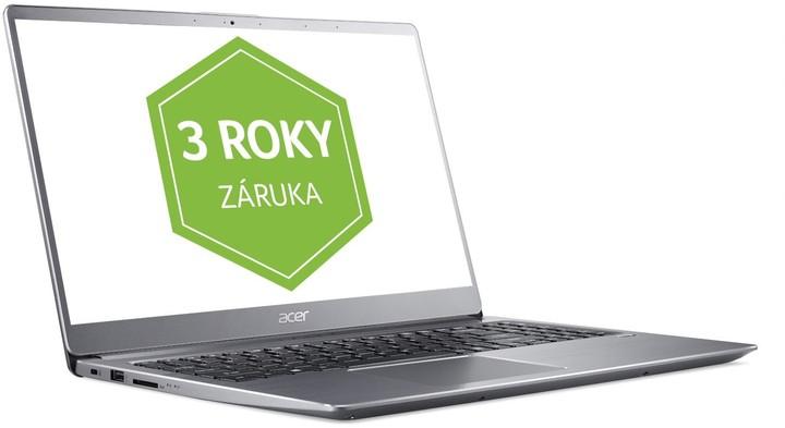 Acer Swift 3 celokovový (SF315-52-34LR), stříbrná