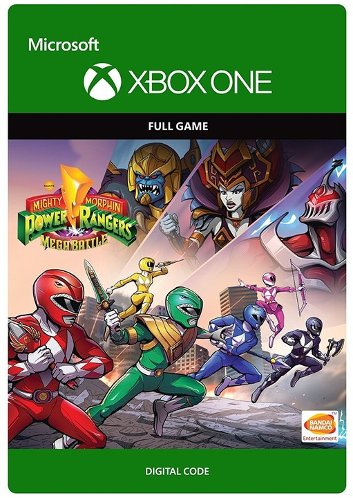 Power Rangers Mega Battle (Xbox ONE) - elektronicky