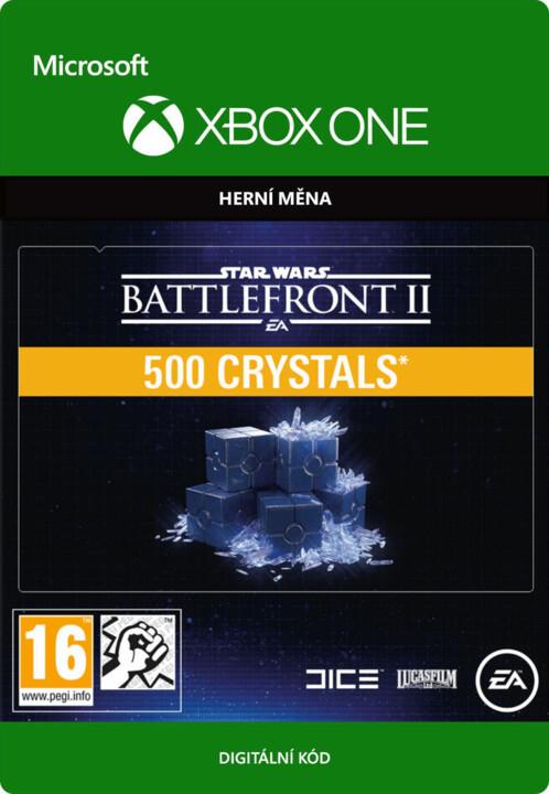 Star Wars Battlefront II - 500 Crystals (Xbox ONE) - elektronicky