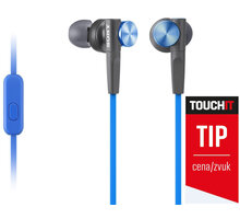 Sony MDR-XB50AP, modrá  + Voucher na slevu 300 Kč na další nákup v hodnotě nad 3000 Kč (max. 1 ks, který získáte při objednávce nad 499 Kč)
