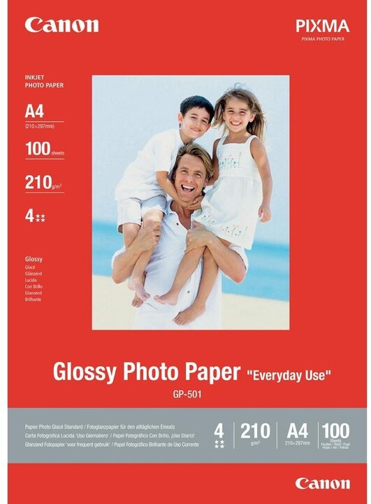 "Canon Glossy Photo Paper ""Everyday Use"" GP-501"