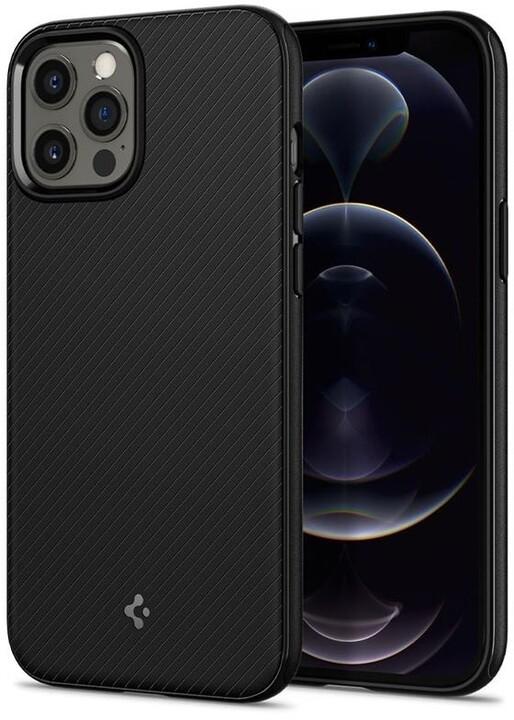 Spigen ochranný kryt MagArmor pro iPhone 12 Pro Max, černá