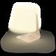 Repro Mooni Table Lamp, přenosné, bezdrátové, bílá v hodnotě 3 675 Kč