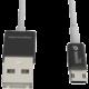 WSKEN MicroUSB nabíjecí/datový kabel, oboustranné konektory,(USB i microUSB) černé koncovky