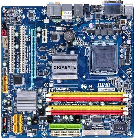 GIGABYTE GA-EG41MF-US2H - Intel G41