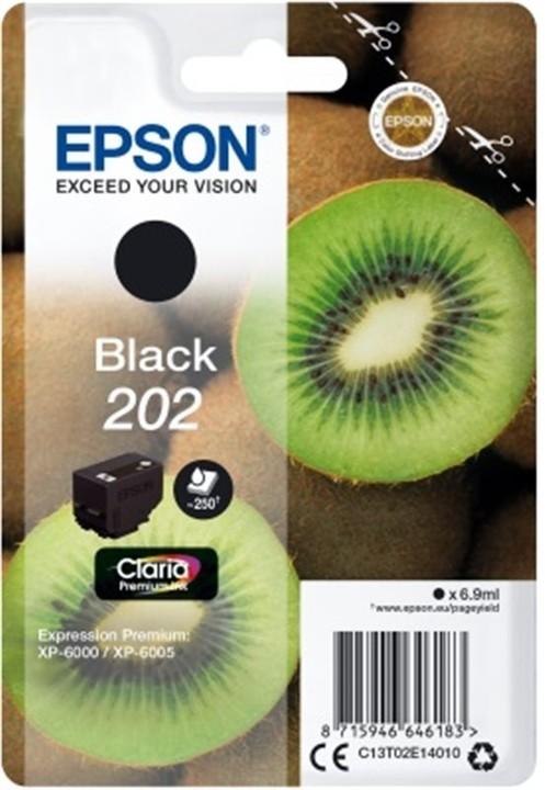 Epson C13T02E14010, 202 claria černá