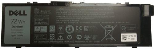 Dell baterie, 6-cell, 91Wh LI-ON pro Precision 7510/7710