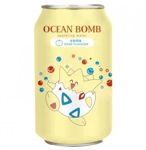 POKÉMON Togepi Ocean Bomb Hruška 330 ml